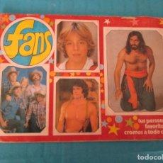 Coleccionismo Álbum: FANS ESTE. Lote 168147832