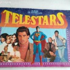 Coleccionismo Álbum: ALBUM DE CROMOS COMPLETO TELE STARS TELESTARS. Lote 168173529
