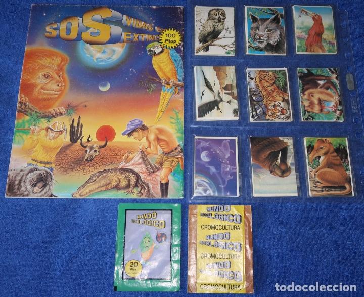 Coleccionismo Álbum: Mundo ecológico - Editorial Cromo Cultura (1980) ¡Colección completa sin pegar! - Foto 2 - 168383628