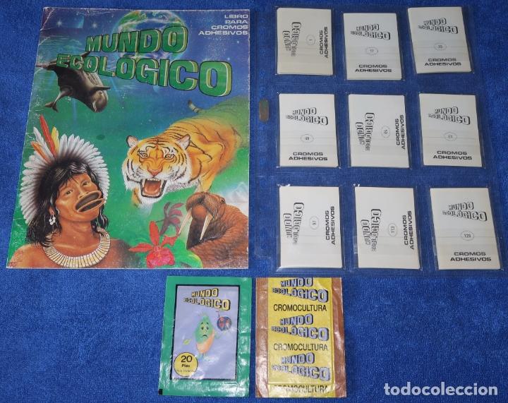 MUNDO ECOLÓGICO - EDITORIAL CROMO CULTURA (1980) ¡COLECCIÓN COMPLETA SIN PEGAR! (Coleccionismo - Cromos y Álbumes - Álbumes Completos)