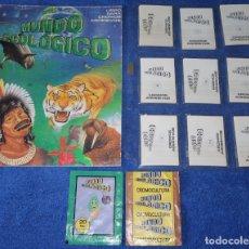 Coleccionismo Álbum: MUNDO ECOLÓGICO - EDITORIAL CROMO CULTURA (1980) ¡COLECCIÓN COMPLETA SIN PEGAR!. Lote 168383628