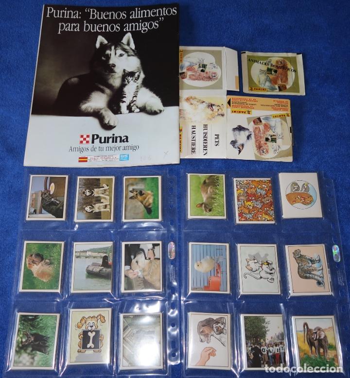 Coleccionismo Álbum: Animales Domésticos (1988) ¡Colección completa sin pegar! - Foto 2 - 168383816