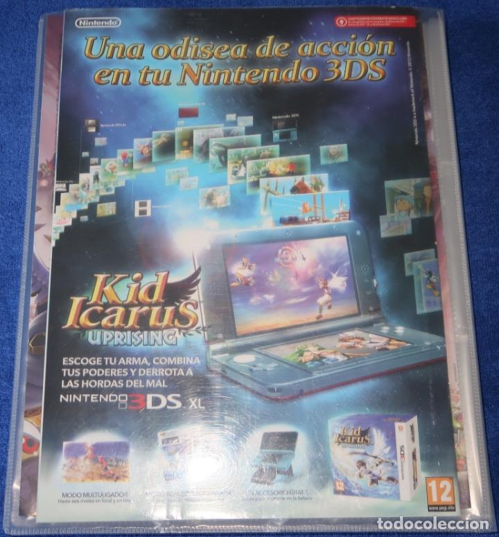 Coleccionismo Álbum: Kid Icarus Uprising - Nintendo 3DS - PANINI (2012) ¡Colección completa! - Foto 5 - 168385088