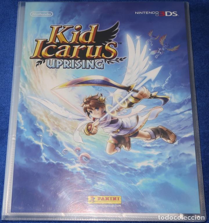 KID ICARUS UPRISING - NINTENDO 3DS - PANINI (2012) ¡COLECCIÓN COMPLETA! (Coleccionismo - Cromos y Álbumes - Álbumes Completos)