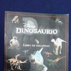 Coleccionismo Álbum: DISNEY DINOSAURIO, LIBRO DE PEGATINAS, COMPLETO CON 60 PEGATINAS, VER FOTOS BUEN ESTADO. Lote 168470152