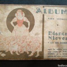 Coleccionismo Álbum: ÁLBUM DE CROMOS BLANCANIEVES Y LOS 7 ENANITOS COMPLETO, FHER. Lote 168478966