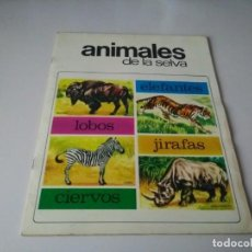 Coleccionismo Álbum: IÑI ÁLBUM DE CROMOS COMPLETO. ANIMALES DE LA SELVA. EDICIONES SUSAETA. 1972. LOTE BETA.. Lote 168513424