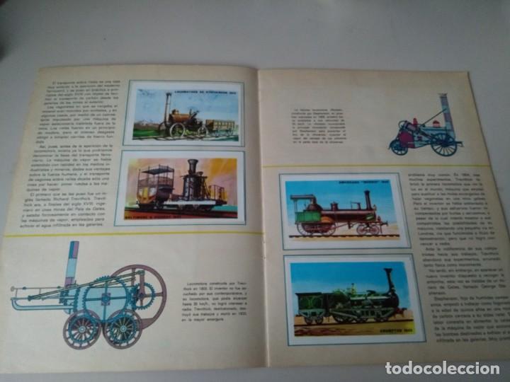 Coleccionismo Álbum: iñi ÁLBUM DE CROMOS COMPLETO. TRENES. EDICIONES SUSAETA. 1971. Lote beta. - Foto 3 - 168513868