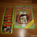 Coleccionismo Álbum: PERROS Y GATOS SL ITALY 1993. 119 CROMOS Y 8 PAQUETES SIN ABRIR BUEN ESTADO. Lote 168575924