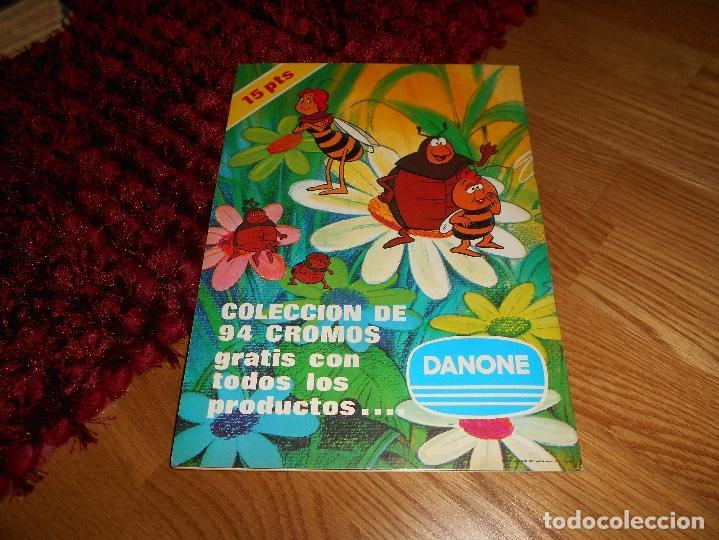 Coleccionismo Álbum: ALBUM DANONE AVENTURAS ABEJA MAYA NO COMPLETO VACIO PLANCHA PERFECTO - Foto 6 - 168576848