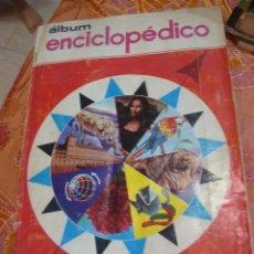 Coleccionismo Álbum: ALBUM COMPLETO , ALBUM ENCICLOPEDICO. Lote 168618708