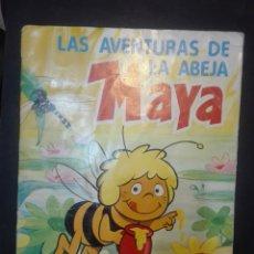 Coleccionismo Álbum: LAS AVENTURAS DE LA ABEJA MAYA DANONE COMPLETO. Lote 168638030