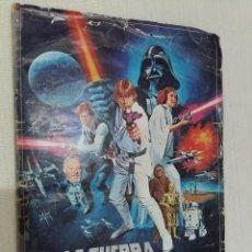 Coleccionismo Álbum: LA GUERRA DE LAS GALAXIAS ALBUM DE CROMOS COMPLETO 1977 PACOSA DOS STAR WARS. Lote 168767924