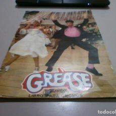 Coleccionismo Álbum: ALBUM GREASE AÑO 1979 FOTOS DE TODAS LAS HOJAS. Lote 168839476