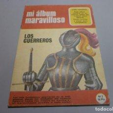 Coleccionismo Álbum: ALBUM LOS GUERREROS . Lote 168840092