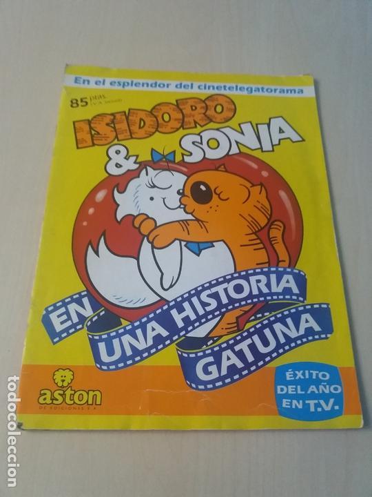 ALBUM ISIDORO & SONIA ASTON EDICIONES 1988 - COMPLETO (Coleccionismo - Cromos y Álbumes - Álbumes Completos)