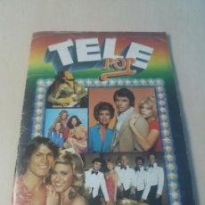 Coleccionismo Álbum: ALBUM TELE POP - EDICIONES ESTE 1980 - COMPLETO -. Lote 169000568