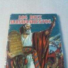 Coleccionismo Álbum: ALBUM LOS DIEZ MANDAMIENTOS - EDITORIAL BRUGUERA 1959 - COMPLETO 210 CROMOS -. Lote 169101808