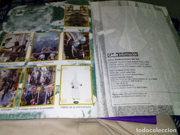 Coleccionismo Álbum: ALBUM COMPLETO. CROMOS DE LA SEMANA SANTA GADITANA. EST24B3 - Foto 18 - 169342392