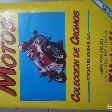 Coleccionismo Álbum: ALBUM MOTOS 1987. Lote 169507060