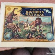 Coleccionismo Álbum: ALBUM DE HISTORIA NATURAL TOMO II EUROPA ALBUM COMPLETO CHOCOLATES JUNCOSA (COIB5). Lote 169600620