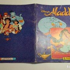 Coleccionismo Álbum: PANINI - DISNEY - ALADDIN - ALBUM COMPLETO. Lote 169828080