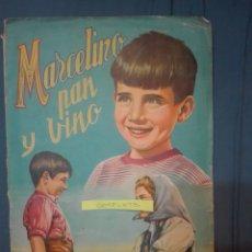 Coleccionismo Álbum: MARCELINO PAN Y VINO. Lote 169842384