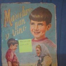 Coleccionismo Álbum: MARCELINO PAN Y VINO. Lote 169842424