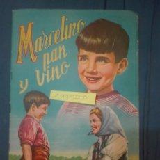Coleccionismo Álbum: MARCELINO PAN Y VINO. Lote 169842444