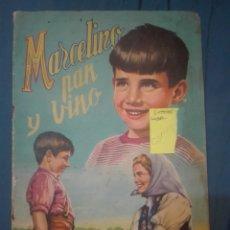 Coleccionismo Álbum: MARCELINO PAN Y VINO. Lote 169842472