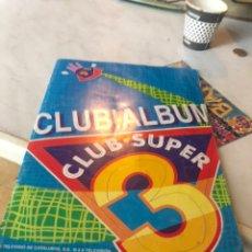 Coleccionismo Álbum: ÁLBUM CROMOS SÚPER 3 COMPLETO. Lote 169962481