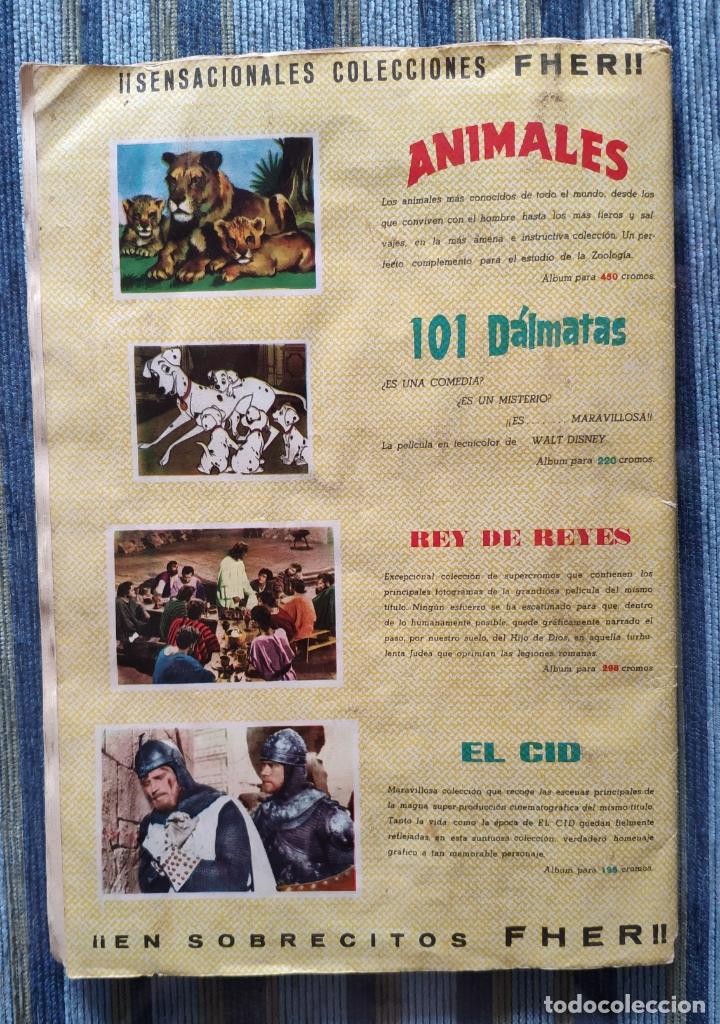 Coleccionismo Álbum: ALBUM DE CROMOS RIN-TIN-TIN (COMPLETO) - (FHER 1962) - Foto 2 - 170015148