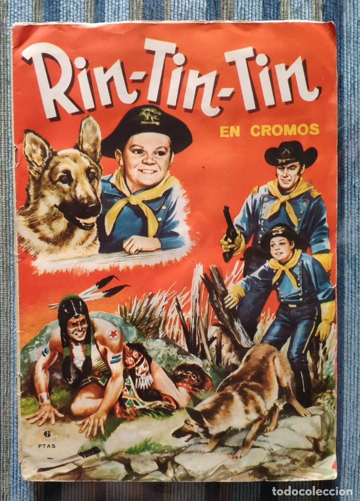 ALBUM DE CROMOS RIN-TIN-TIN (COMPLETO) - (FHER 1962) (Coleccionismo - Cromos y Álbumes - Álbumes Completos)
