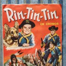 Coleccionismo Álbum: ALBUM DE CROMOS RIN-TIN-TIN (COMPLETO) - (FHER 1962). Lote 170015148