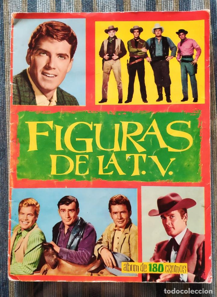 ALBUM DE CROMOS FIGURAS DE LA TV (COMPLETO) - (EDICIONES ESTE 1965) (Coleccionismo - Cromos y Álbumes - Álbumes Completos)