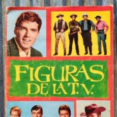 Coleccionismo Álbum: ALBUM DE CROMOS FIGURAS DE LA TV (COMPLETO) - (EDICIONES ESTE 1965). Lote 170016760