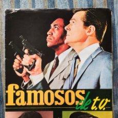 Coleccionismo Álbum: ALBUM DE CROMOS FAMOSOS DE LA TV (COMPLETO) - (FHER 1966). Lote 170017704