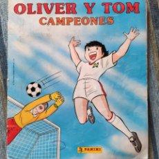 Coleccionismo Álbum: ALBUM DE CROMOS OLIVER Y TOM CAMPEONES (COMPLETO) - (PANINI 1991). Lote 170018956
