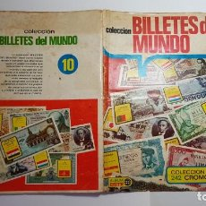 Coleccionismo Álbum: ESTE - BILLETES DEL MUNDO - ALBUM COMPLETO. Lote 170082328
