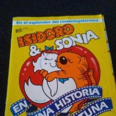Coleccionismo Álbum: 124-ALBUM CROMOS ISIDORO Y SONIA, UNA HISTORIA GATUNA, COMPLETO, 1984. Lote 170226256