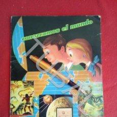 Coleccionismo Álbum: TUBAL ÁLBUM CONOZCAMOS EL MUNDO CHOCOLATES SANTA JULIANA EDICIONES FHER 1964 COMPLETO 280 CROMOS. Lote 170345240