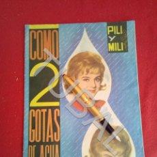 Coleccionismo Álbum: TUBAL VACIO ÁLBUM COMO 2 GOTAS DE AGUA PILI Y MILI FHER 1964. Lote 170345528