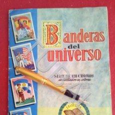 Coleccionismo Álbum: TUBAL ALBUM CON CROMOS BANDERAS DEL UNIVERSO EDITORIAL BRUGUERA COMPLETO. Lote 170346280