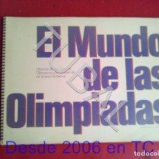 Coleccionismo Álbum: TUBAL ALBUM DE CROMOS - EL MUNDO DE LAS OLIMPIADAS (LABORATORIOS VITA,1976) COMPLETO. Lote 170348504