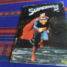 Coleccionismo Álbum: SUPERMAN II 2 COMPLETO 96 CROMOS. FHER 1980. BUEN ESTADO. . Lote 170358828