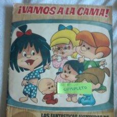 Coleccionismo Álbum: VAMOS ALA CAMA FAMILIA TELERÍN EDITORIAL BRUGUERA COMPLETO. Lote 170426765