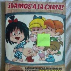 Coleccionismo Álbum: VAMOS A LA CAMA EDITORIAL BRUGUERA COMPLETO. Lote 170426862