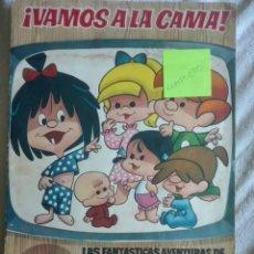 Coleccionismo Álbum: VAMOS A LA CAMA EDITORIAL BRUGUERA COMPLETO. Lote 170427006