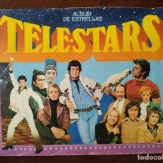 Coleccionismo Álbum: ALBUM DE ESTRELLAS TELE STARS COMPLETO A FALTA DE TRES CROMOS. Lote 170506176