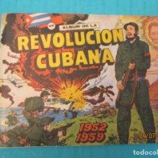 Coleccionismo Álbum: LA REVOLUCION CUBANA. Lote 170606995